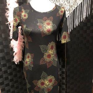 LuLaRoe Flowered Dress